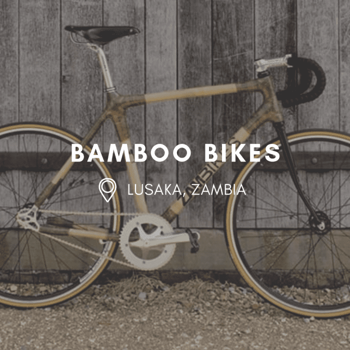 These Bamboo Bikes Fight Poverty in Zambia