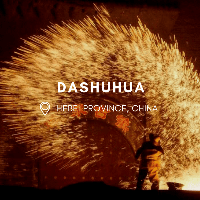 Throwing Fireworks By Hand