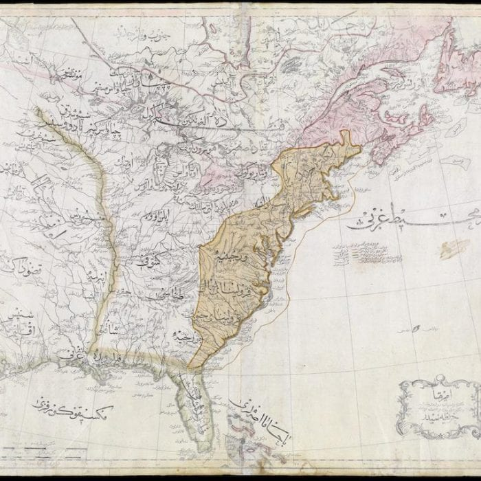 The Ottoman Empire's Maps of the United States