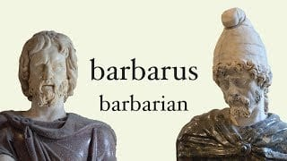 Barbarians, Those Who Say Blah