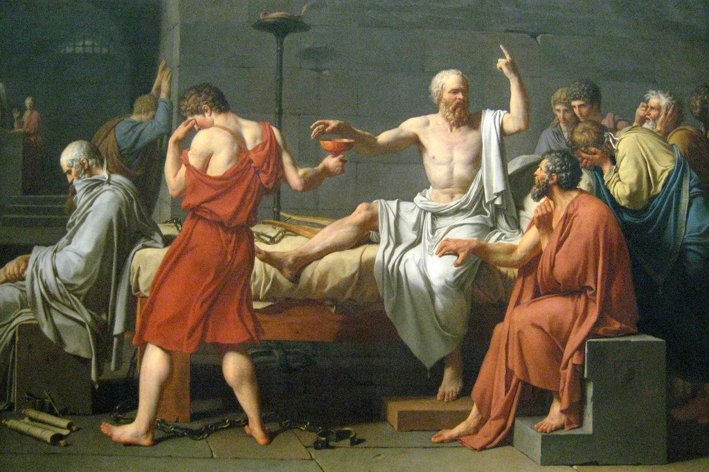"""Socrates' Death Penalty & """"A Jury of One's Peers"""""""