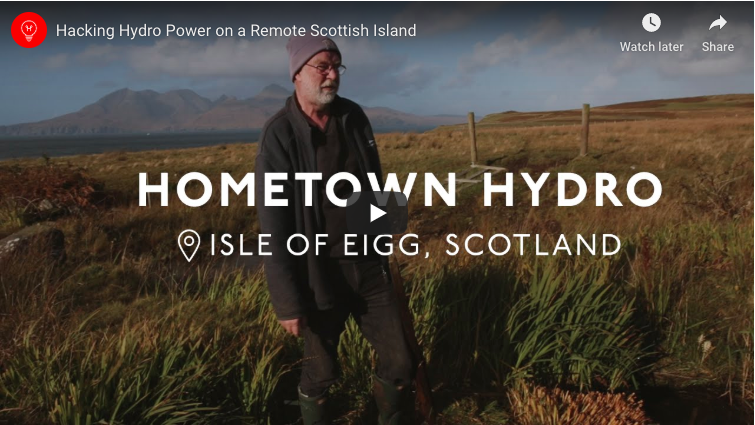 Hacking Hydro Power on a Remote Scottish Island